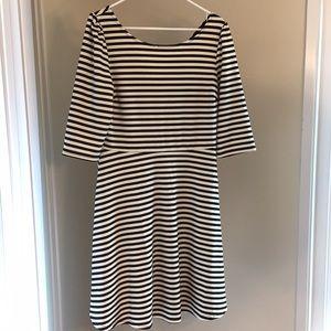 Pixley Striped Fit & Flare Dress - Stitch Fix